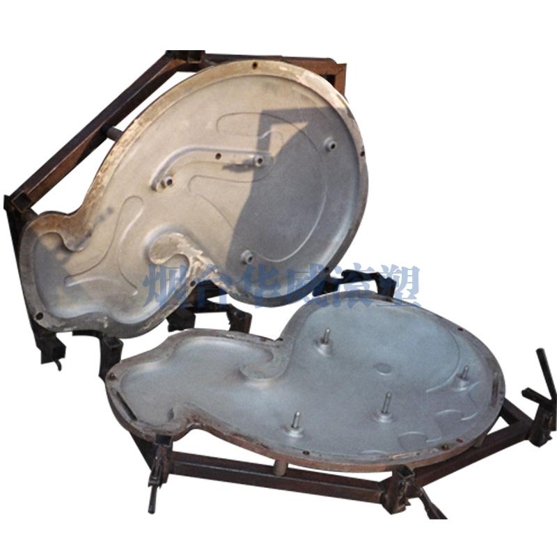 鲸鱼造型铝合金模具