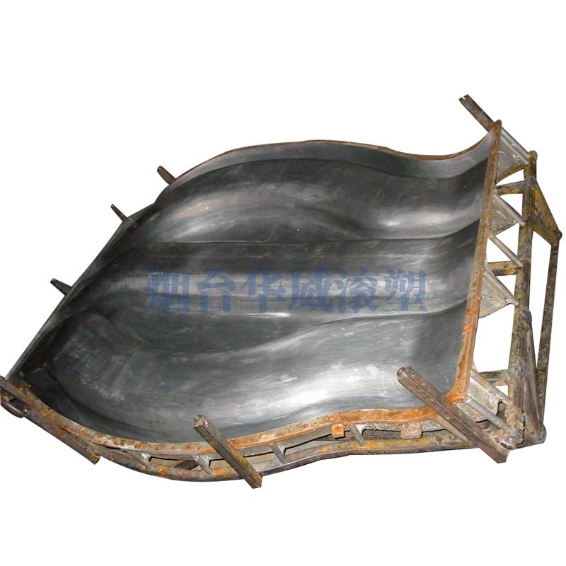 三滑梯铝合金模具(上模)